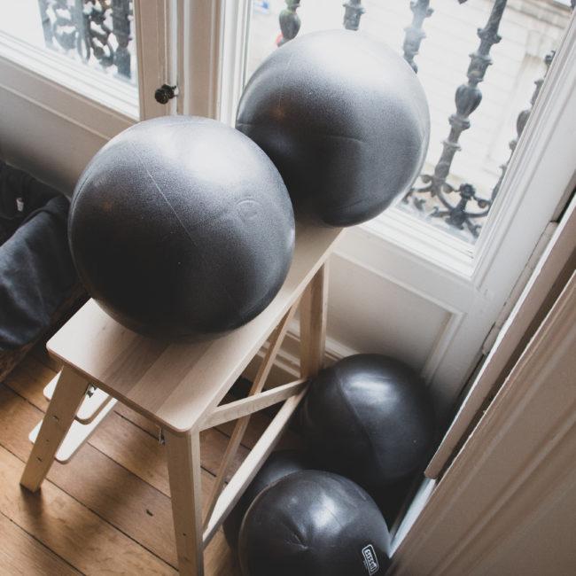 Ballons de pilates