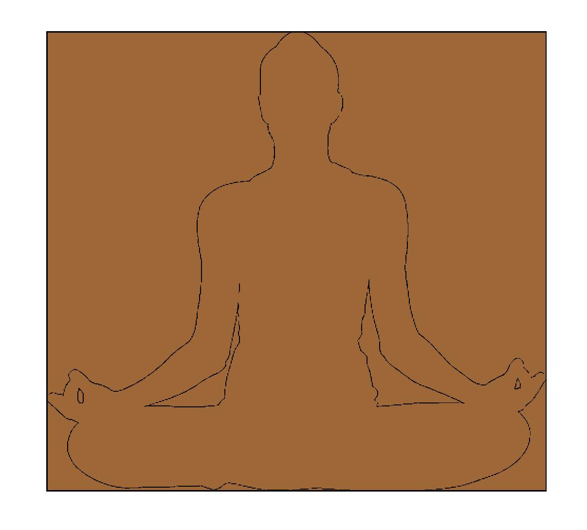 La posture de Méditation la plus connue avant l'inscription au cours