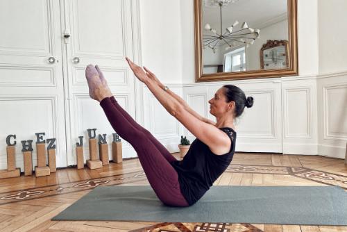 Jeanne professeure de Pilates